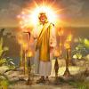 christ jesus candlesticks